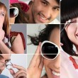Montage showing variety of eye-wear — Stock Photo #9233737