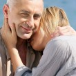 Couple hugging - Stock Photo