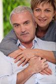 Parents hugging — Stock Photo