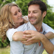 Couple are in love — Stock Photo #9288168