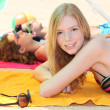 Sunbathing teen — Stock Photo #9289350