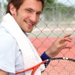 Photo: Tennis player