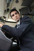 Bus driver — Stock Photo