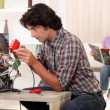 Stock Photo: Appliance Repair