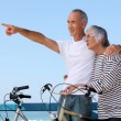 Couple biking — Stock Photo #9309040