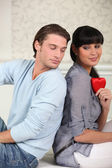 Will you be my valentine? — Stock Photo