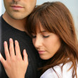Embracing couple — Stock Photo #9312001