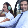 Airplane Pilot — Stock Photo #9314059