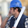 Architect on site — Stock Photo #9318025