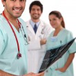 Doctors and nurses — Stock Photo #9318747