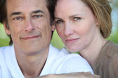 Portret van (echt) paar — Stockfoto