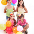 Stock Photo: Child Birthday Party