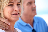 Portrait of a middle-aged couple — Stock Photo
