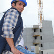 Construction worker — Stock Photo #9579759