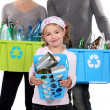 Family Recycling — Stock Photo #9580707