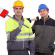 Construction workers — Stock Photo #9581307