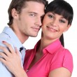Young couple embracing — Stock Photo #9581655