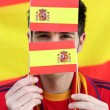 Spanish football supporter — Stock Photo #9583828