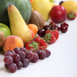 Selection of various fruits - Stock Photo