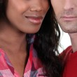 Faces of couple — Stock Photo #9584684