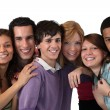 Stock Photo: Group of teenage friends