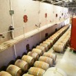 Stock Photo: Large barrel storage facility