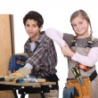 Royalty-Free Stock Photo: Child carpenters