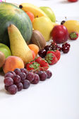 Selection of various fruits — Stock Photo