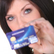 Stock Photo: credit card