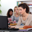 Girls in classroom — Stock Photo #9597816