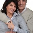 Mature married couple — Foto de stock #9608654