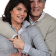Mature married couple — Stock Photo #9608654