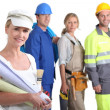 Group of artisans — Stock Photo #9615677
