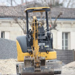 Stock Photo: An excavator