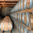 Stock Photo: Wine storage cellar
