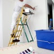 Decorator painting base coat — Stock Photo