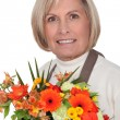 Portrait of a florist — Stock Photo