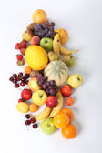 Variety of fruits — Stock Photo