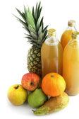 Wybór soków owocowych — Zdjęcie stockowe