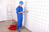 Measuring electrical current — Stock Photo