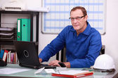 Managing professional office — Stock Photo