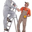 Two decorators working together — Stock Photo #9681431