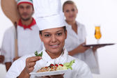 Catering trades — Stock Photo