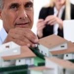 fastighetsmäklare — Stockfoto
