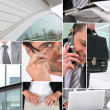Business collage — Stock Photo #9748300