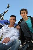 Förkärlek för motorcyklar — Stockfoto