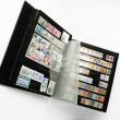 Stock Photo: Stamp album