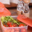 Salad box - Stock Photo