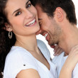 Stock Photo: Couple laughing together