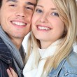 Portrait of couple — Stock Photo #9765446